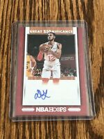2019-20 Hoops Daniel Gafford Great Significance RC Auto Bulls Rookie