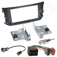 Smart ForTwo Facelift Doppel-DIN Autoradio Einbauset Radioblende Iso KFZ Adapter