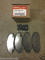 Genuine OEM Honda Ridgeline Rear Brake Pad Set 06-14 Brakes Pads Acura TL 09-14
