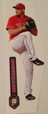 "Matt Harrison Mini FATHEAD Rangers 8"" Inch w/ Nameplate Sign MLB Wall Graphics"