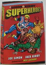 Superheroes SIGNED by Joe Simon & Neil Gaiman  1st Ed