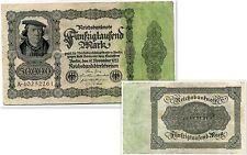 ALLEMAGNE  50000  mark   1922  (  A40252261 )