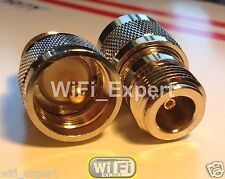 10 Pack UHF PL259 Male Plug to N Type Female RF Connector Adapter USA