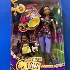 S.I.S So In Style Trichelle & Janessa Pet Fun Barbie Dolls Mattel 2012 NRFB New