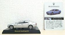 1/64 Kyosho MASERATI QUATTROPORTE SILVER diecast car model
