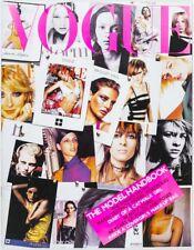 Kate Moss Gisele Bridget Hall Anouck Lepere Supermodel Cover Vogue MAGAZINE Vtg