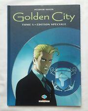 BD - Golden city 5 Le dossier Harrison TL 2003 / PECQUEUR / MALFIN / DELCOURT