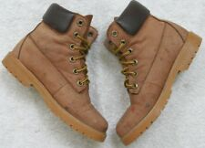 Colorado Beige Boots Shoes 5/6 Lace Up Women's Leather Woman's Casual Comfort