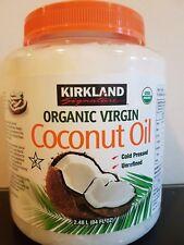 2 X Coconut Oil 1l Litre Certified Organic 100 Pure Virgin Cold Pressed