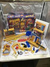 Toy Biz Spider-Man Animated Series DAILY BUGLE PLAYSET 1994