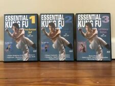 KUNG FU SERIES (3) DVD SET shaolin staff stances footwork double broadsword