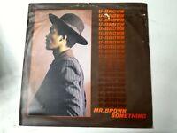 U-Brown – Mr. Brown Something Vinyl LP 1978 UK COPY