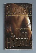 THE DARK HIGHLANDER by KAREN MARIE MONING // HIGHLANDER #5 // 2002 // GOOD COND