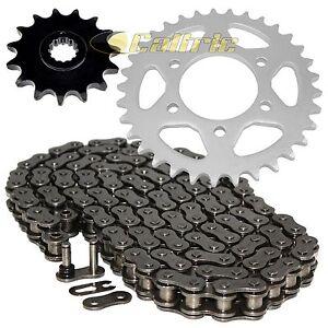 O-Ring Drive Chain & Sprockets Kit for Kawasaki KZ1000A KZ1000B KZ1000D KZ1000G