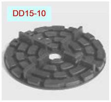60 Plattenlager DD15-10, Höhe 10mm, Fuge 4mm, Stege 10mm, f. Terrasse,,