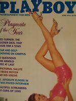 Playboy June 1995 | Rhonda Adams Julie Cialini   #DA4527+