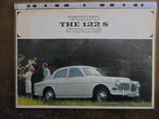 VOLVO 122S SERIES orig 1964 1965 USA Mkt Prestige Sales Brochure - Amazon