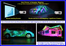 Panasonic PT-DZ770  WUXGA Projector = Great for Lightform Creator , LFC mapping