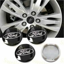 4X Black WHEEL HUB CENTER CAPS FORD CP9C-1A096-AA C-Max Edge Focus Fiesta Fusion