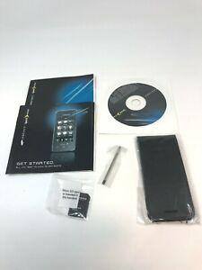 New Sprint Instinct Start Up Books, CD, Leather Case, Micro SD Adapter & Stylus
