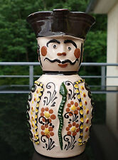Volkstümlicher älterer Keramik Figurenkrug - Kanne aus Budapest  !!!