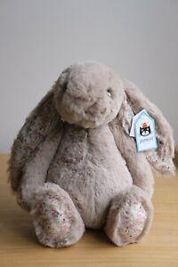 Jellycat Medium Blossom Bea 31cm Plush - Beige Bunny
