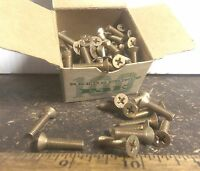 Box of 100 - Reed & Prince Machine Screws - P/N: MS35191-256 (NOS)