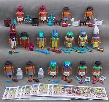 Satz Abenteuer am Nil mit Varianten und BPZ Überraschungsei Steckfiguren