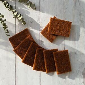 8Pcs Eco-friendly Dish Washing Cleaning Sponge Scourer UK STOCK