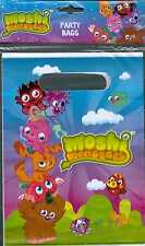 Moshi Monsters pack of 6 Loot Party Favour Bags brand new & sealed