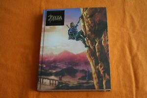 Legend of Zelda Breath of Wild Collectors Edition Neu in Folie Buch Lösungsbuch