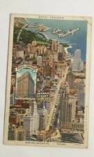 HOTEL CROYDON CHICAGO POSTCARD