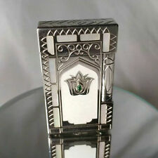 ST Dupont Taj Mahal Limited Edition Gatsby Platinum and Mother-of-Pearl Lighter