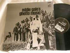 EDDIE GALE Ghetto Music Russell Lyle Elaine Beiner 180 gram vinyl LP with poster