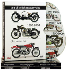 A-Z OF MOTORCYCLES BOX SET DVD - MOTORCYCLE DVD