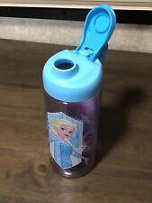 Disney Frozen Plastic Water Bottle by Zak Carry Loop BPA Free