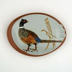 Stangl California Pheasant Ashtray from the mid-century Sportsman Series