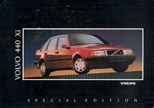 Volvo 440 Xi 1.8 Limited Edition 1992 UK Market Sales Brochure