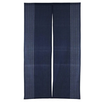 Noren - Rideau Japonais Porte / Japanese Door Curtain - Raku Blue Navy