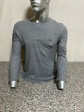 T-SHIRT ARMANI SWEATSHIRT POLO SHIRT UOMO MAN GRIGIO GREY TU-167