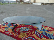 Table basse salon acier verre propeller K9009 1964 Knut Hesterberg Roald Schmit