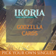 Ikoria: Lair of the Behemoths GODZILLA Cards NON FOIL (Magic/MTG)