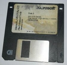 Microsoft MS-DOS 6.22 Plus Enhanced Tools OS Floppy Disk Collectable Disk 2 Only