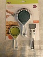 Chef'n Sleekstor Collapsible Measuring Cups & Spoons
