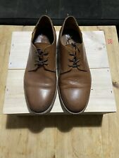 Paul Smith Men's Plain Toe Derby Shoes in Brown UK 7 EU 41 Made In Italy