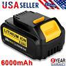 NEW For DEWALT DCB206 20V 20 Volt MAX XR Lithium Ion 6.0 AH Battery Pack DCB205