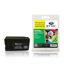 JET TEC HP950XL HIGH CAPACITY REMANUFACTURED HP CN045AE BLACK INK CARTRIDGE