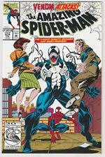 Amazing Spider-Man 374 375 Marvel VENOM NM+ movie foil cover