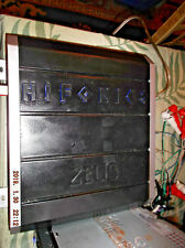 HIFONICS  ZEUS  ZR500.2 500 WATT RMS  1/2 CHANNEL CAR AMPLIFIER