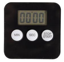Large Display Truck Driver Clock Digital Magnetic Countdown Black Timer Alarm
